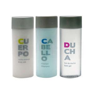 Botellas gel champú OVAL utiliceme