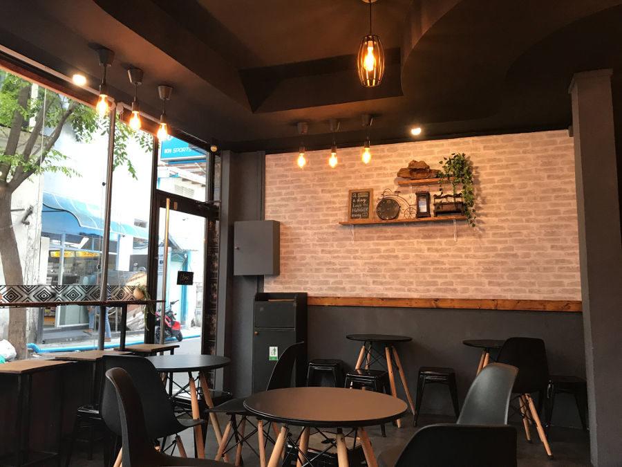 Mobiliario cafetería