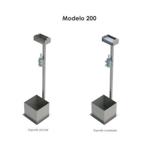 Central higienizante portátil Modelo 200