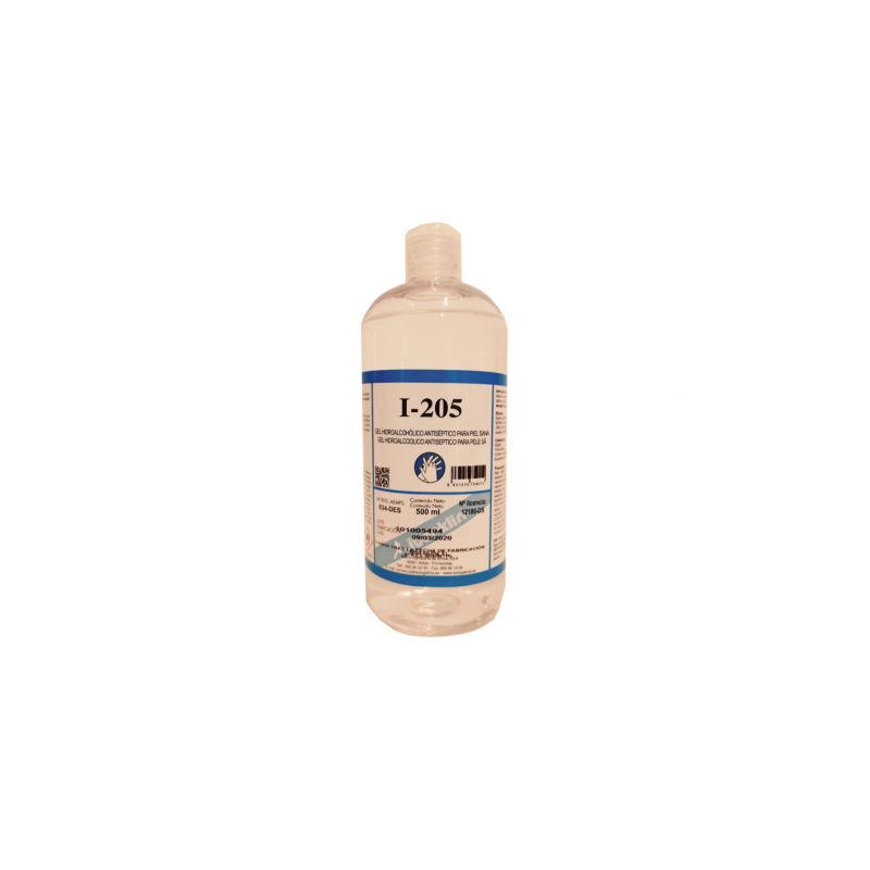 Gel hidroalcohólico desinfectante I-205 500ml