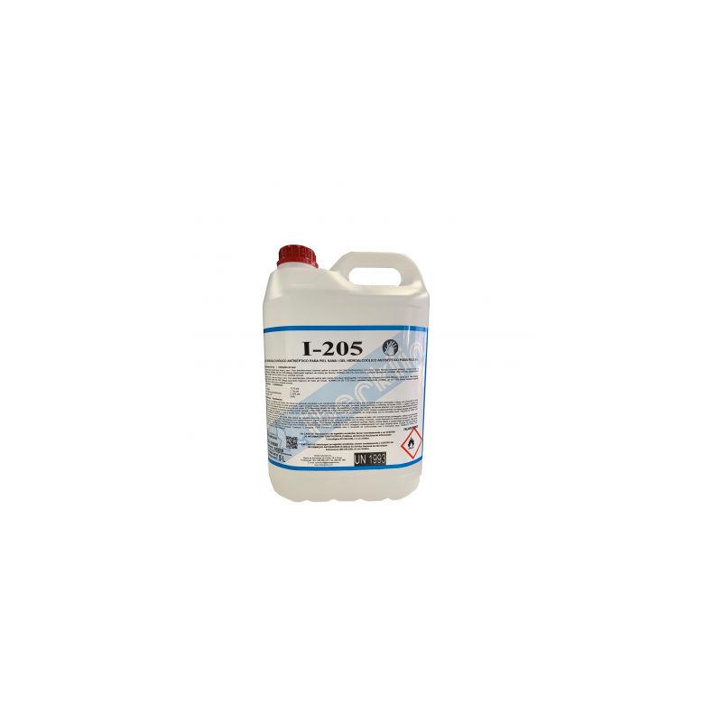 Gel hidroalcohólico desinfectante I-205