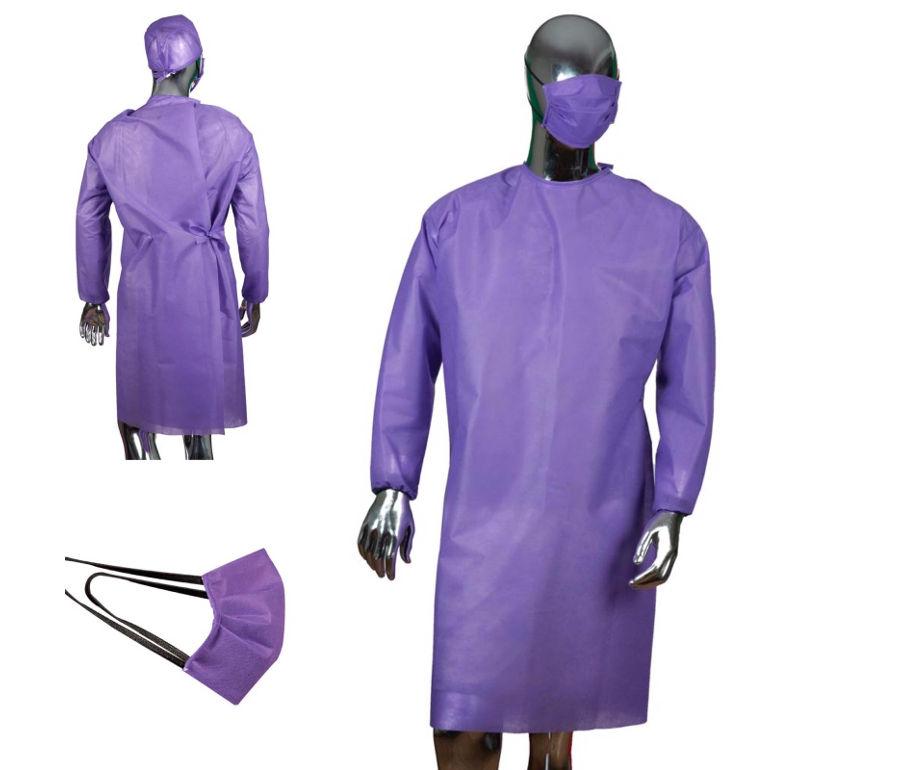 Protección polipropileno lila